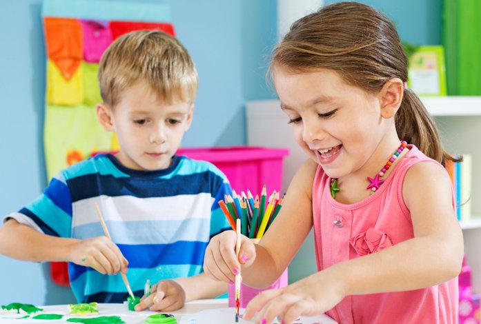 målarkurser för barn