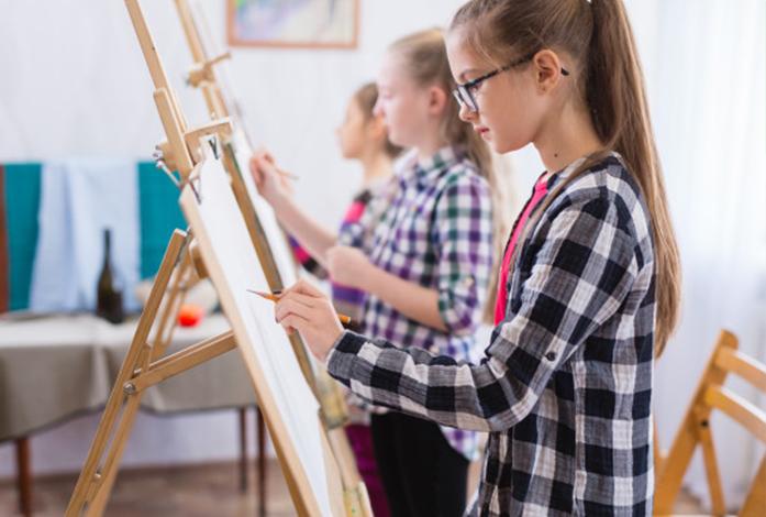 målarkurser för unga