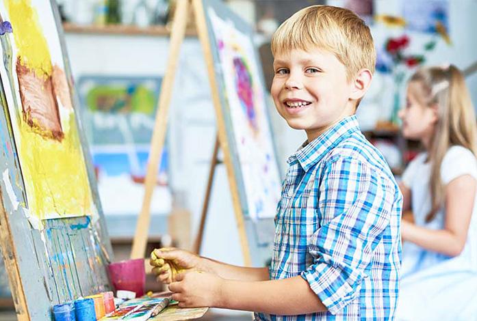 konstkurser för barn