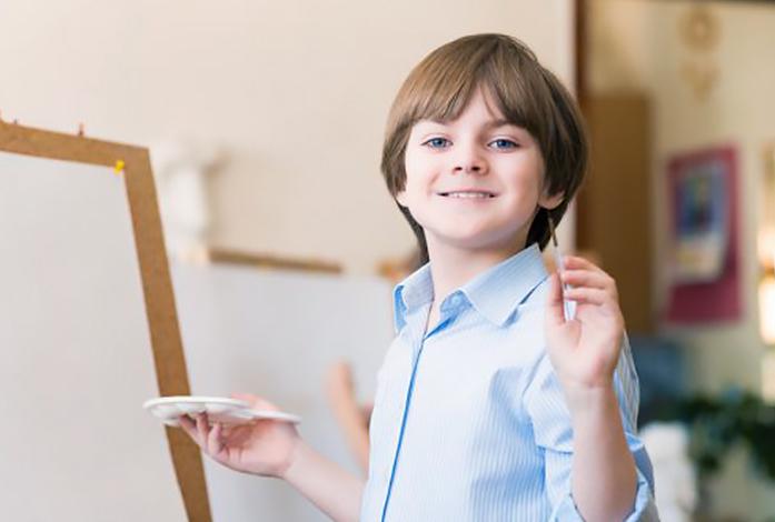 målarkurser för barn och unga